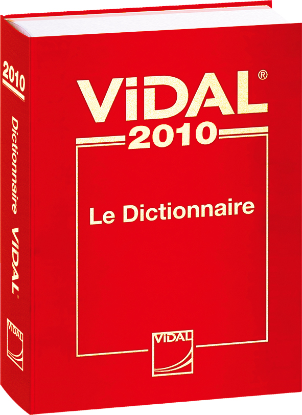 Le Dictionnaire Vidal 2010 My Book Is Open