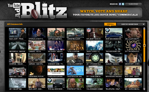 toutes les pubs du super bowl 2011 d couvrir avec ad blitz my book is open. Black Bedroom Furniture Sets. Home Design Ideas