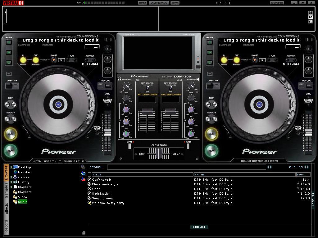 t u00e9l u00e9charger gratuitement le logiciel virtual dj et mixer