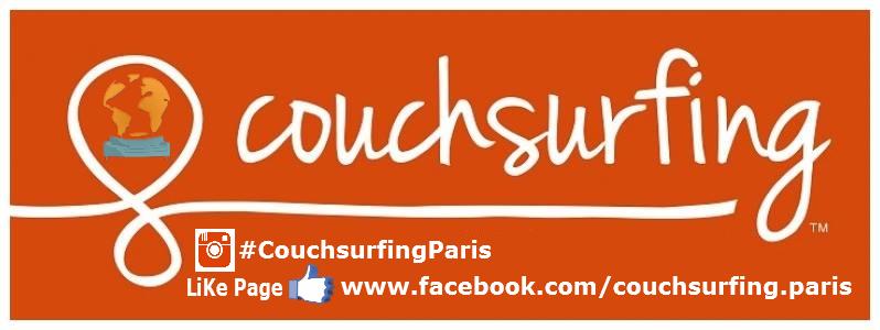 Couchsurfing Paris #LiKePage #Facebook #addGroup #addFriends #FacebookPage #Fbpage #FBLIKE