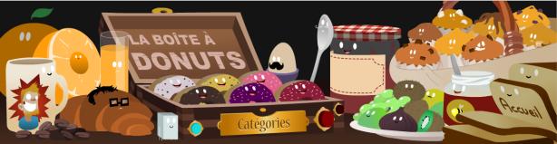 Animation Flash – La boite à Donuts