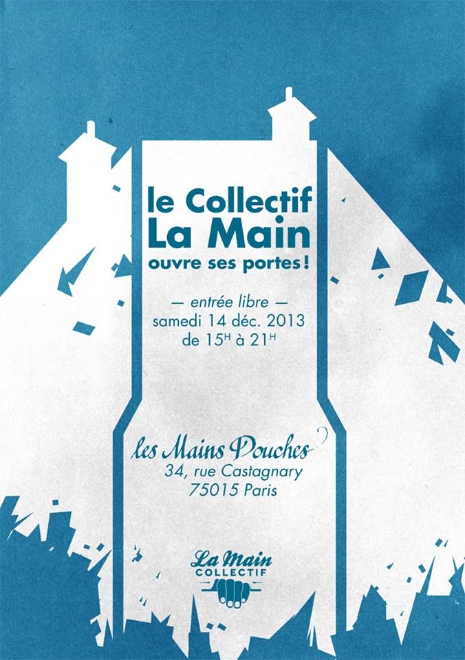 Portes ouvertes sur le quartier et visite artistique des Bains Douches de Castagnary à Paris XVe avec LaMainCollectif