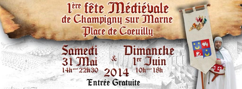 1ère Fête Médiévale de Champigny sur Marne