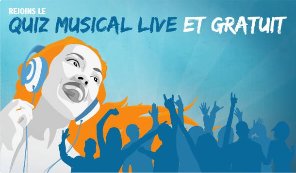 Quiz Musical Live et Gratuit – Massive Music Quiz – Jeu de Blind Test Multijoueur Music Quiz