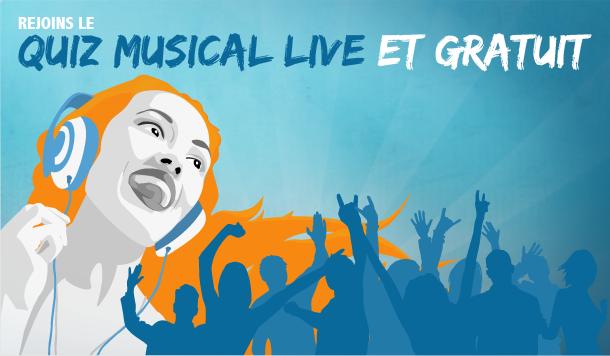 Quiz Musical Live et Gratuit – Massive Music Quiz – Jeu de Blind Test Multijoueur Music Quiz