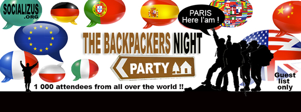 ★ THE BACKPACKERS NIGHT ★ NEW PRIVATE HOTEL PARTY#5
