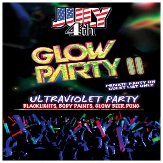 PRIVATE HOTEL PARTY#4  INDEPENDANCE GLOW DAY #socializus #UltraViolet #Party #International #MeetUp in #Paris
