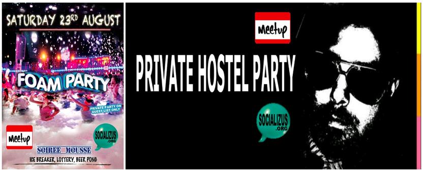 FOAM PARTY •★• SOIREE MOUSSE •★•BANNI7RE FB23rd