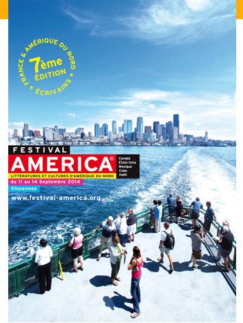 Affiche Festival America 2014 à Vincennes – 7éme édition du 11 au 14 Septembre