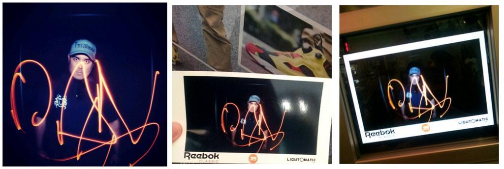 Automatic Machine #lightpainting #DanBizet #Selfie #reebokpump #reebokclassic #Reebok #whatthepump  #pump