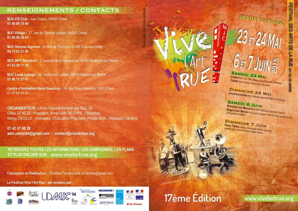 [Gratuit-Free] Edition 2015 - Festival Vive l'art rue !
