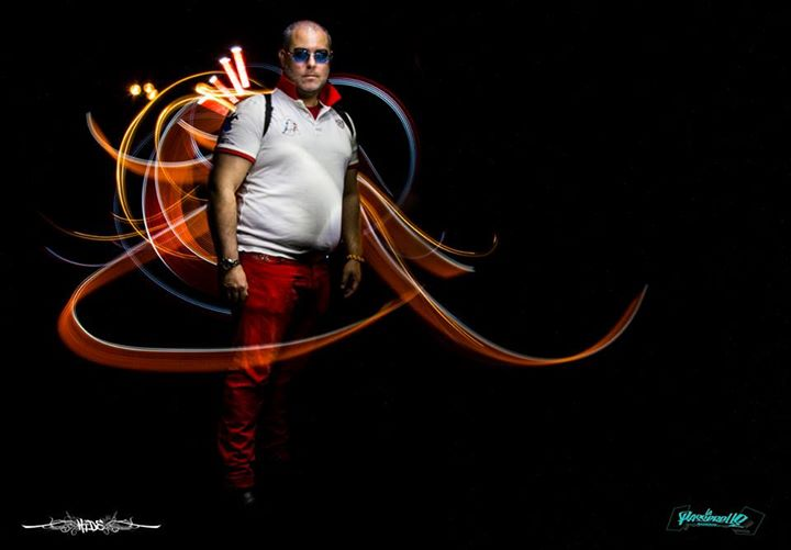 #LightPainting by [HIDe] with [#DanBizet]