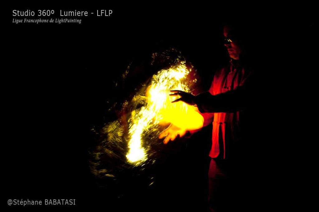 #DanBizet Street Fighter Kameo #LightPainting by Steph with Studio 360' Lumieres & Ligue Francophone de Light Painting - LFLP. pict1