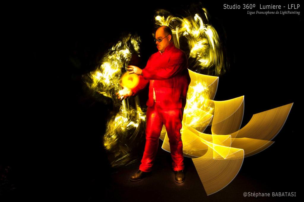 #DanBizet Street Fighter Kameo #LightPainting by Steph with Studio 360' Lumieres & Ligue Francophone de Light Painting - LFLP. pict2
