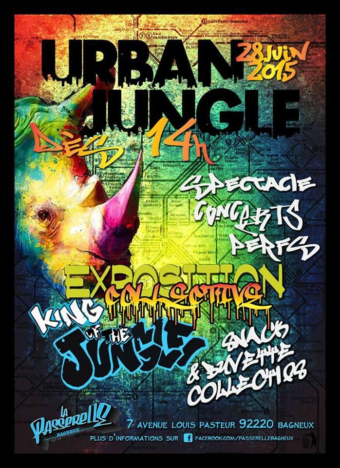 Urban jungle à [#LaPasserelle] [#Bagneux]