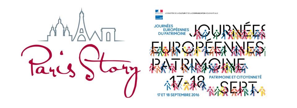 Paris Story participe aux Journée Européenne du Patrimoine 2016 !